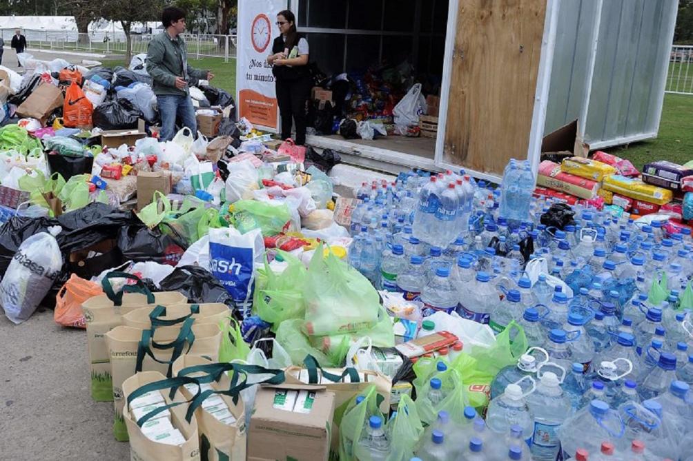 Mar del Plata se suma a la ayuda internacional para enviar donaciones