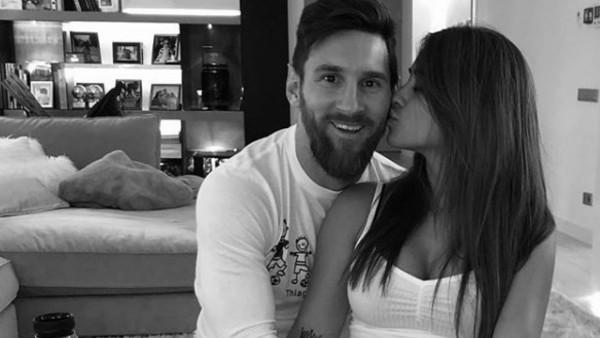 Messi festejó el cumpleaños de Antonela en la previa del clásico frente al Real Madrid