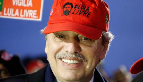 Alberto Fernández celebró el fallo que podría dejar a Lula en libertad
