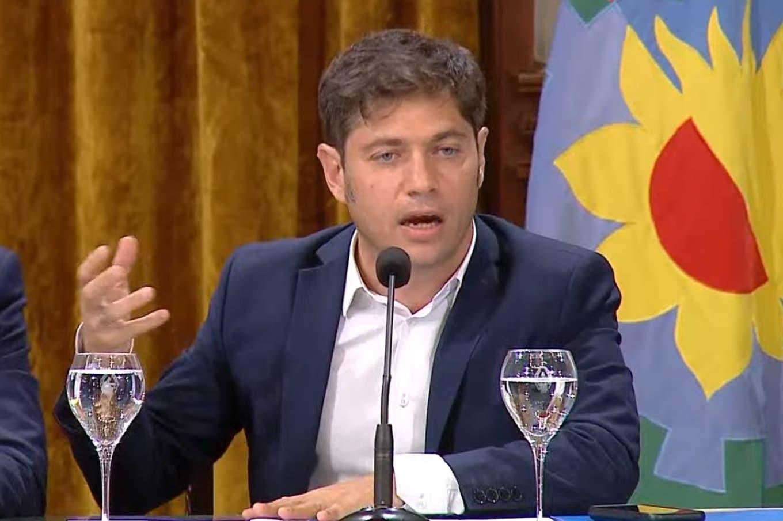 """Axel Kicillof tras los cambios en la ley impositiva: """"Calificarla de impuestazo fue una maniobra política"""""""