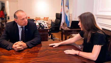"""Sergio Berni y Sabina Frederic crearán un """"Comando Unificado"""" para coordinar los operativos de la Gendarmería en la Provincia"""