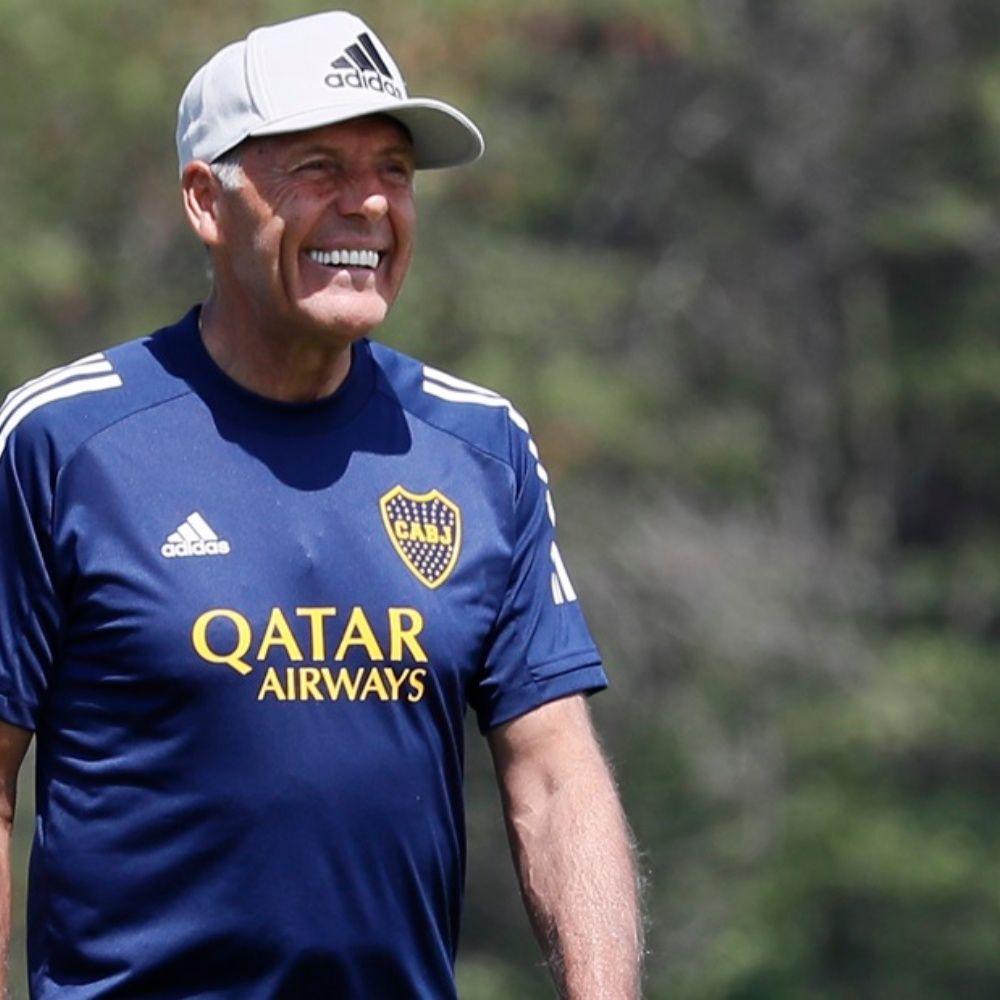 """Miguel Ángel Russo sincero: """"La gente de Boca te pide la Libertadores"""""""