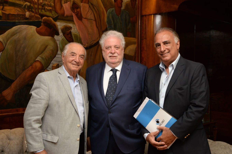 Ginés González García y Armando Cavalieri se reunieron para debatir la Emergencia Sanitaria