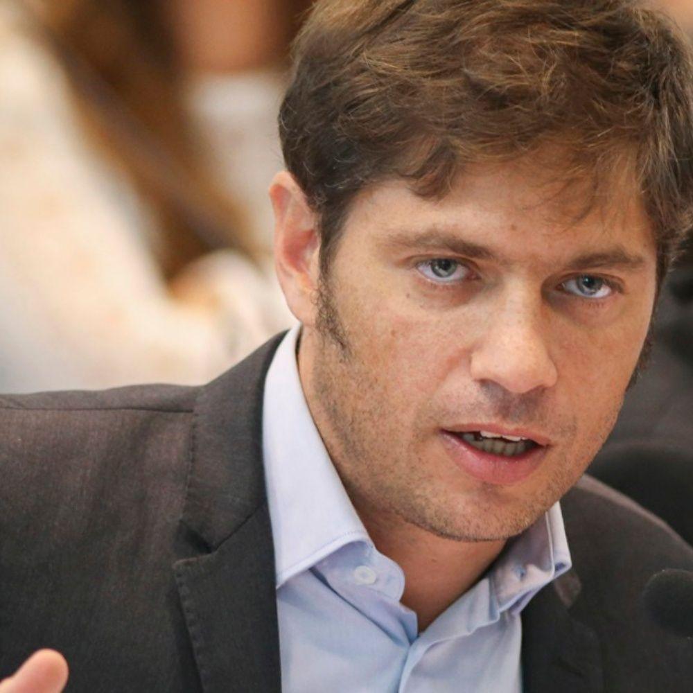 Kicillof anunció el pedido de aplazo del pago de la deuda de la Provincia