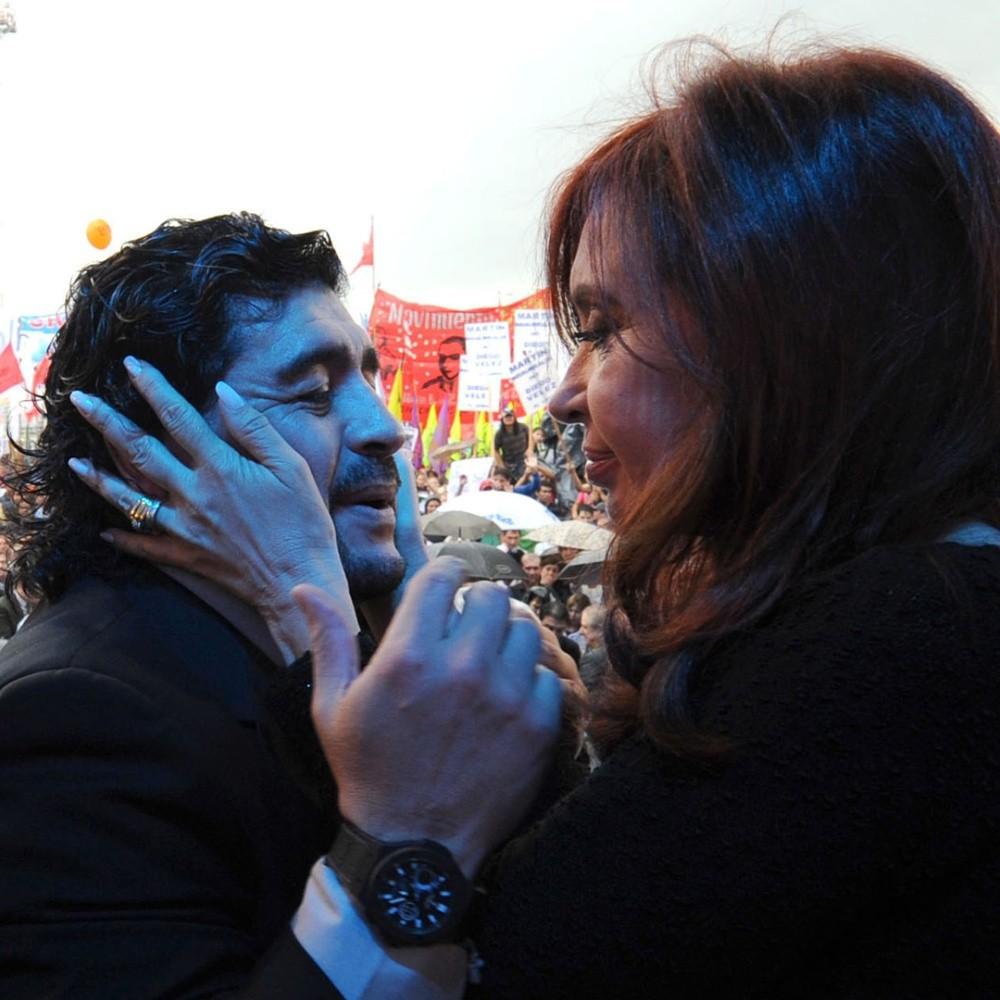 """""""El amor incondicional de un Pueblo"""", Cristina Fernández publicó un vídeo sobre Maradona"""