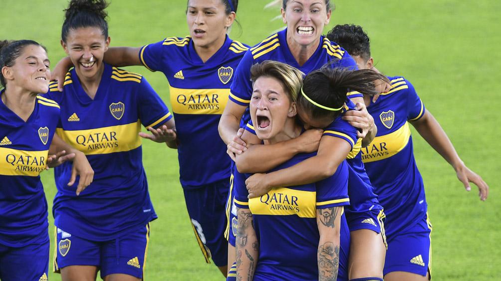 Con una goleada, Boca se consagró como el primer campeón de la era profesional de fútbol femenino