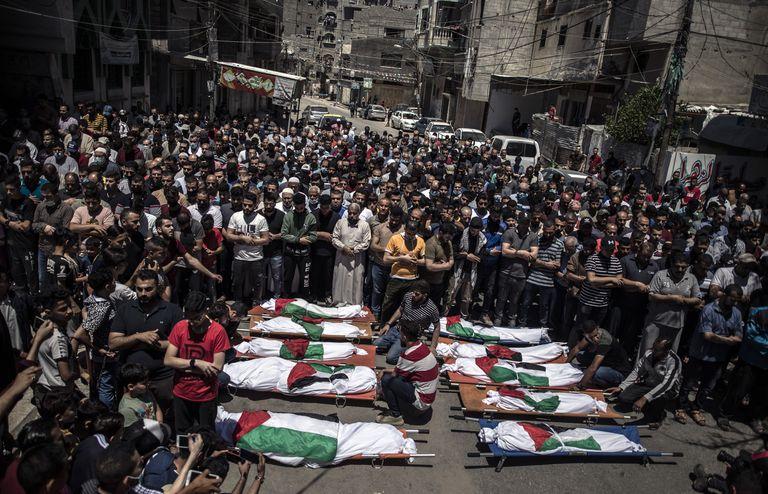 gaza:-26-muertos,-edificios-derruidos-en-ataques-israelies