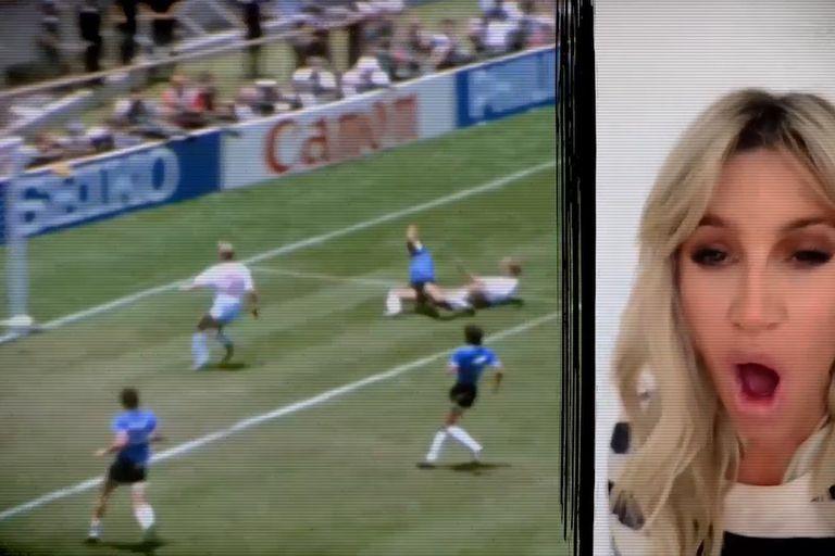 con-relato-de-referentes-kirchneristas-y-jugadores,-el-llamativo-video-del-gol-de-maradona-a-los-ingleses