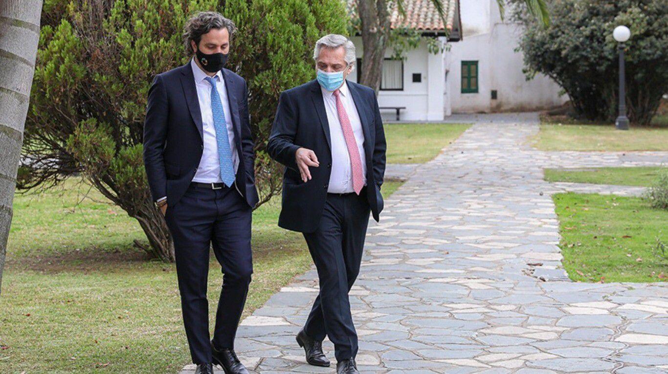 """santiago-cafiero-justifico-las-visitas-vip-en-olivos-en-pleno-confinamiento-estricto:-""""las-reuniones-estuvieron-vinculadas-a-cuestiones-laborales"""""""